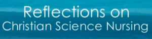 Reflections of Christian Science Nursing video label